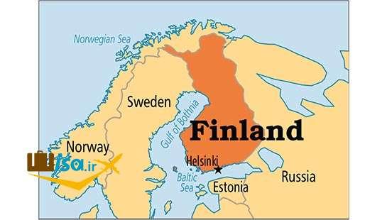 جغرافیای فنلاند