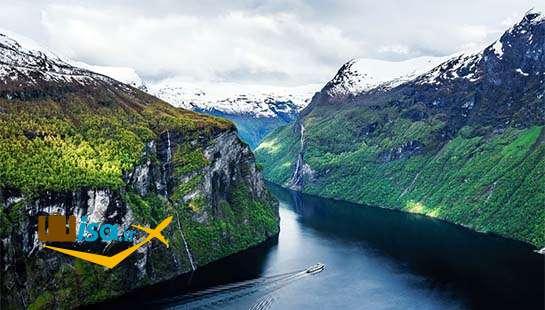 جغرافیای نروژ (آبدره گیرانگر ثبت شده در یونسکو)