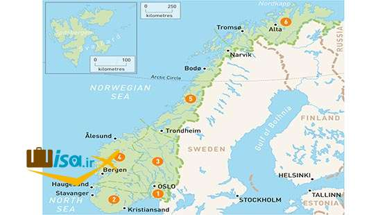 جغرافیای نروژ