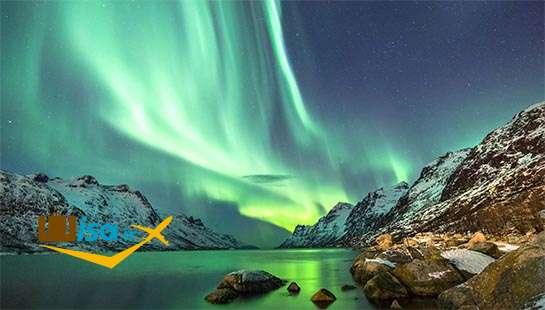 شفق قطبی فنلاند