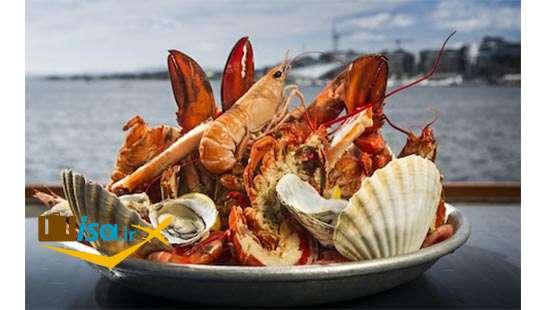 فرهنگ نروژ ( غذای دریایی)