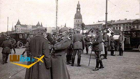 تاریخ لتونی (اشغال کشور توسط آلمان ها)