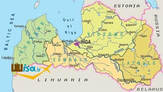 جغرافیای لتونی