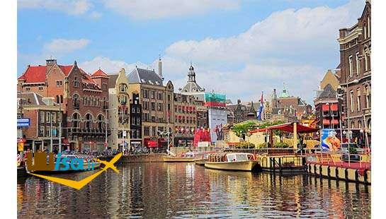 فرهنگ هلند (معماری ساختمانها کنار کنالهای آب)