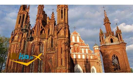 تاریخ لیتوانی (کلیسای سنت آن)
