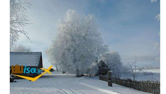 جغرافیای لیتوانی (آب و هوای زمستانی)