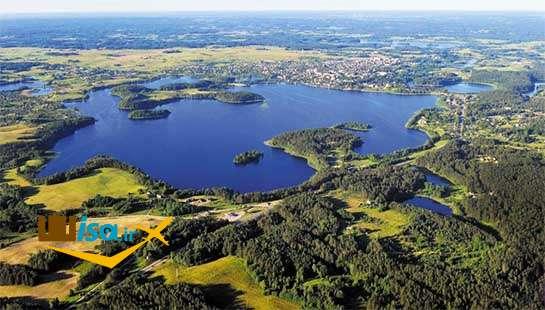 جغرافیای لیتوانی ( یکی از دریاچه های آن)