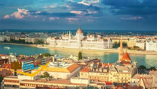 جغرافیای مجارستان (دانوب در عبور از بوداپست)
