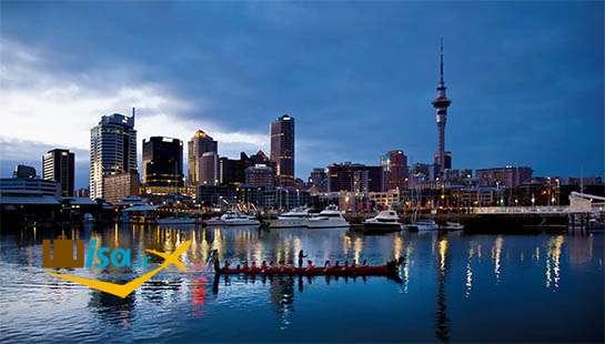 جغرافیای نیوزلند (شهر اوکلند)