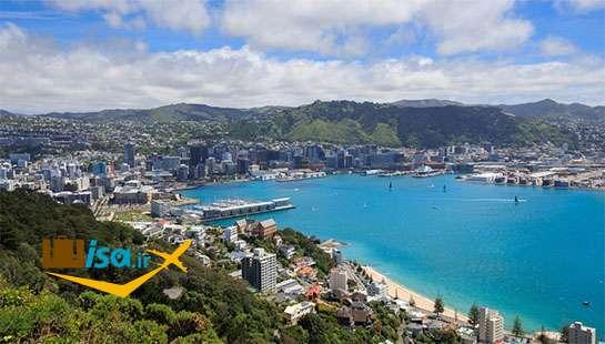 جغرافیای نیوزلند (شهر ولینگتون)
