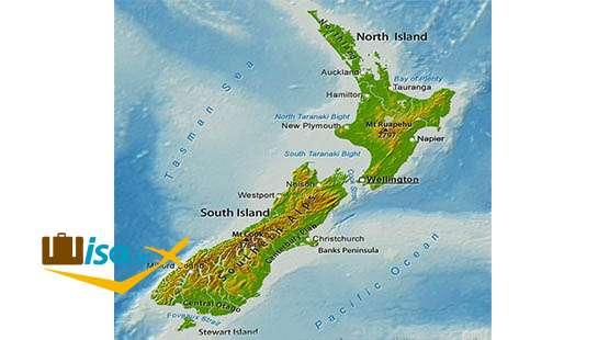 جغرافیای نیوزلند