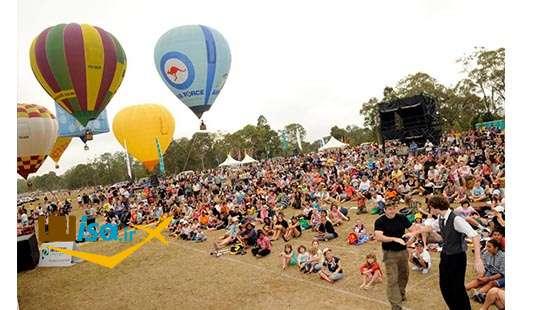 فرهنگ استرالیا (جشن بالن ها)
