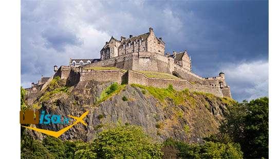 اقتصاد اسکاتلند (منطقه توریستی قلعه ادینبورگ)