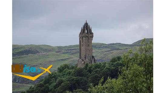 تاریخ اسکاتلند (دژ قدیمی شهر استرلینگ)