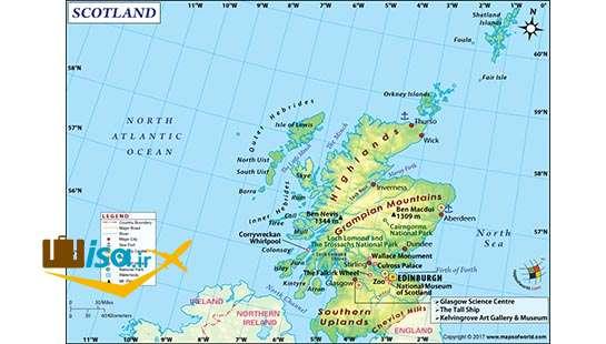 جغرافیای اسکاتلند