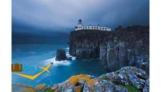 نمایی از جزیره اسکای
