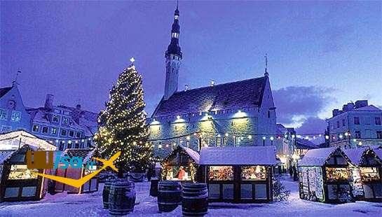 جغرافیای استونی (زمستان)