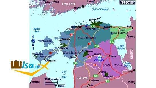 جغرافیای استونی
