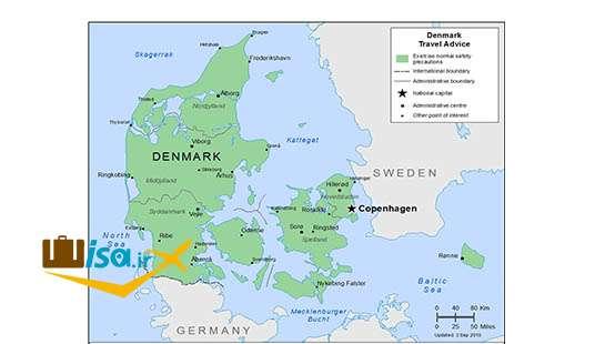 جغرافیای دانمارک
