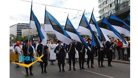 مراسم روز استقلال در استونی