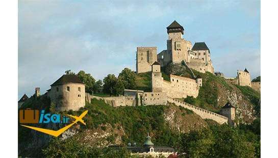 تاریخ اسلواکی (قلعه trenčín)
