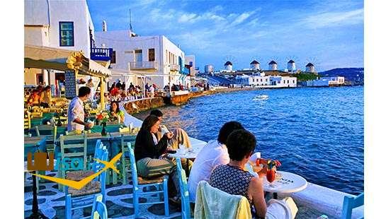 تور یونان (جزیره میکونوس)