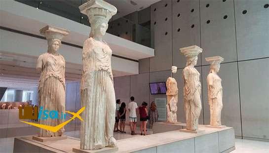 تور یونان شمیران گشت (موزه آکروپلیس)