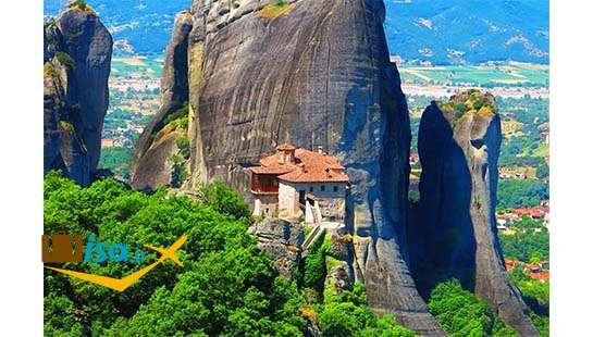 تور یونان (صومعه های متئورا)