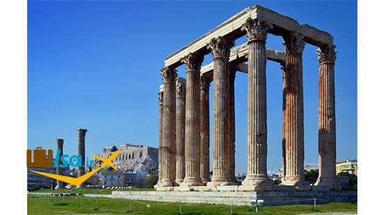 جاذبه های گردشکری یونان (معبد زئوس)