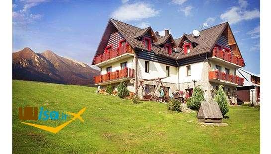 جغرافیای اسلواکی (خانه ای در یکی از روستاها)