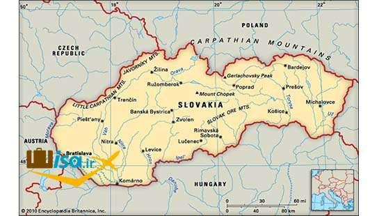 جغرافیای اسلواکی
