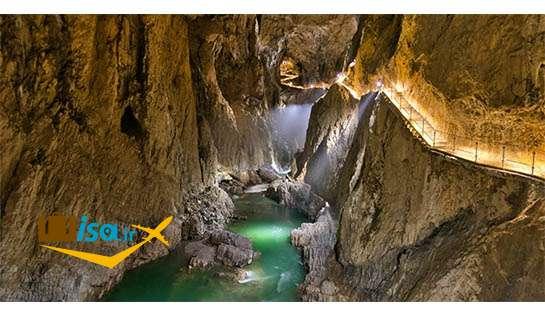جغرافیای اسلوونی (غارهای شکوجان)
