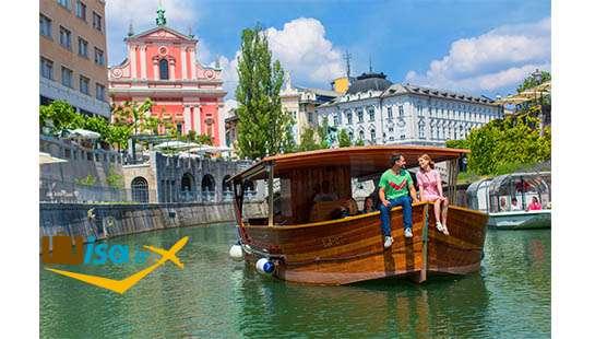 جغرافیای اسلوونی (Ljubljana)