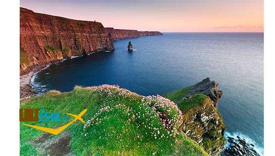 جغرافیای ایرلند (آب و هوای معتدل)