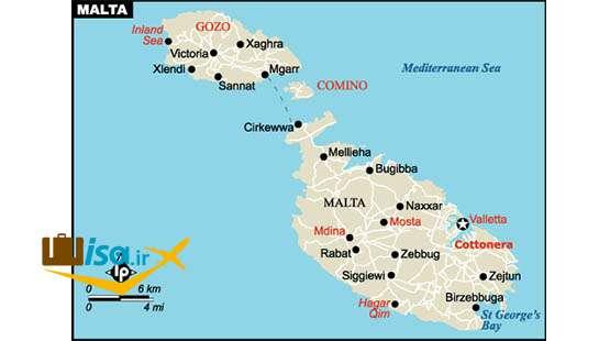 جغرافیای مالت