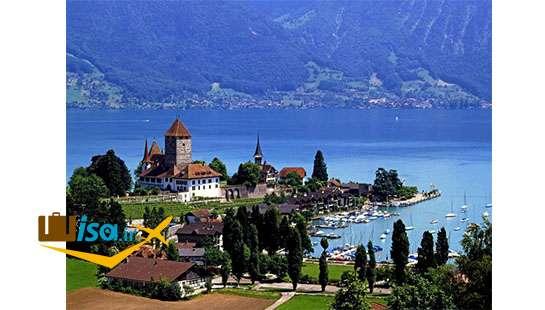 ارزان ترین تور سوئیس (دریاچه تون)