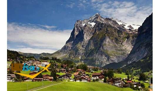 ارزان ترین تور سوئیس (شهر اینترلاکن)