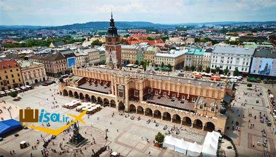 ارزان ترین تور لهستان (میدان اصلی کراکوف)