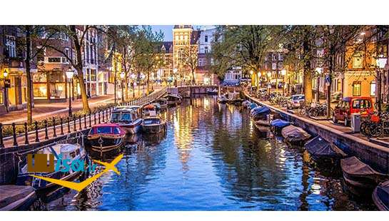 بهترین تور هلند (کانال های آمستردام)