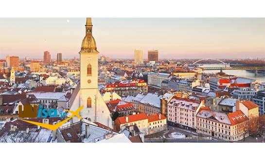 تور ارزان اسلواکی (نمایی از شهر براتیسلاوا)