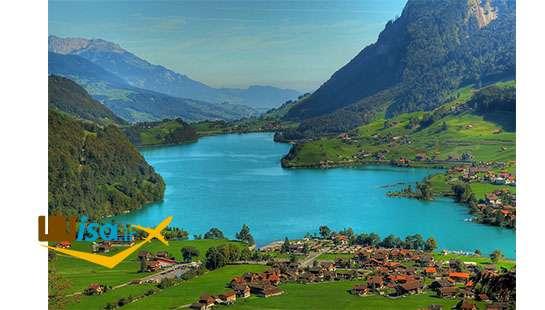 تور لحظه آخری سوئیس (دریاچه Brienz)