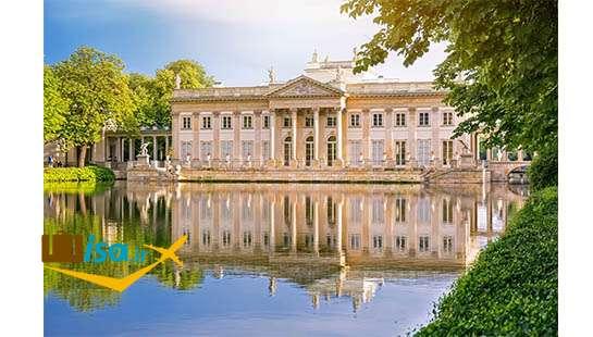 تور لحظه آخری لهستان (قصر روی آب پارک لازینکی)