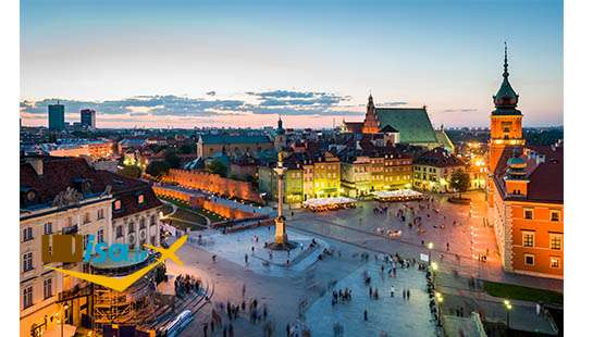 تور لحظه آخری لهستان (ورشو)
