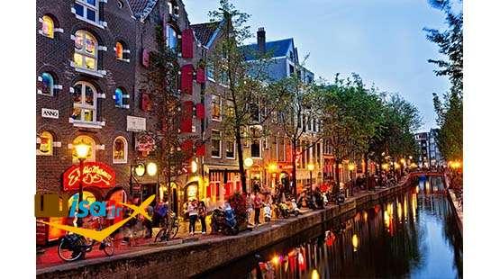 تور لحظه آخری هلند (کانال های آمستردام)