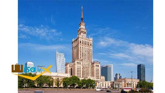 قیمت تور لهستان (کاخ علم و فرهنگ)
