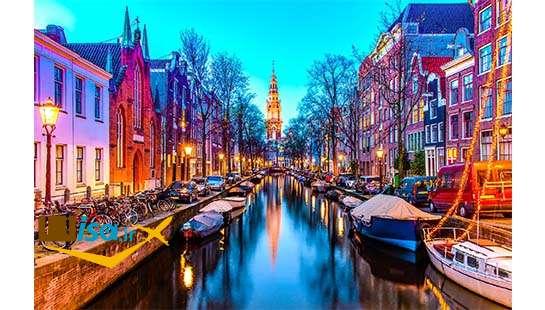 قیمت تور هلند (کانال های آمستردام)