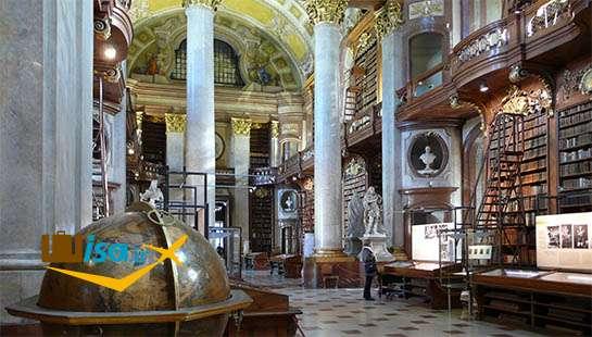 بهترین تور اتریش (کتابخانه ملی اتریش)