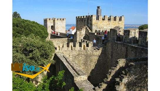 بهترین تور پرتغال (قلعه سنت جورج لیسبون)