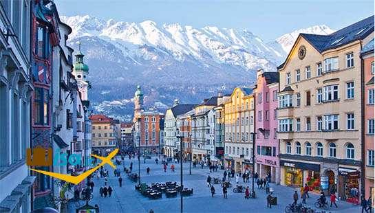 تور اتریش (شهر اینسبروک )