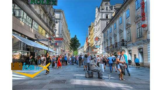تور ارزان اتریش (خیابان کارتنر)
